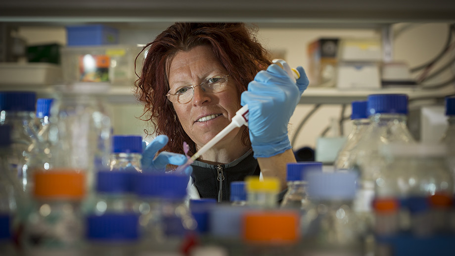 Dr Britta Forster. Photo by Stuart Hay, ANU.
