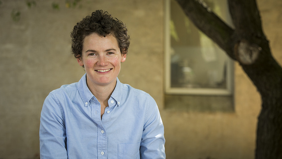 Dr Sophie Lewis from the ANU Fenner School of Environment and Society. Image: Stuart Hay, ANU