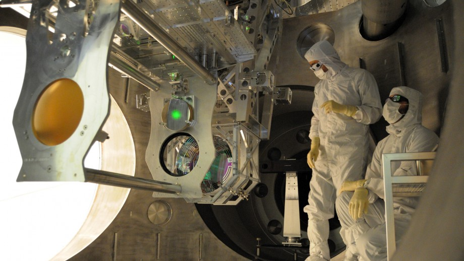 The ANU system is installed at LIGO. Image: LIGO