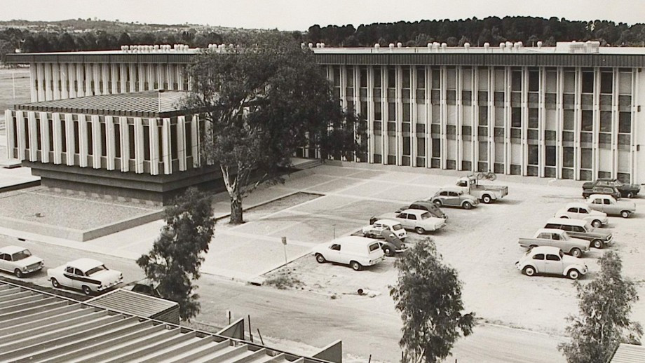 ANU Research School of Chemistry in 1967. Image: ANU
