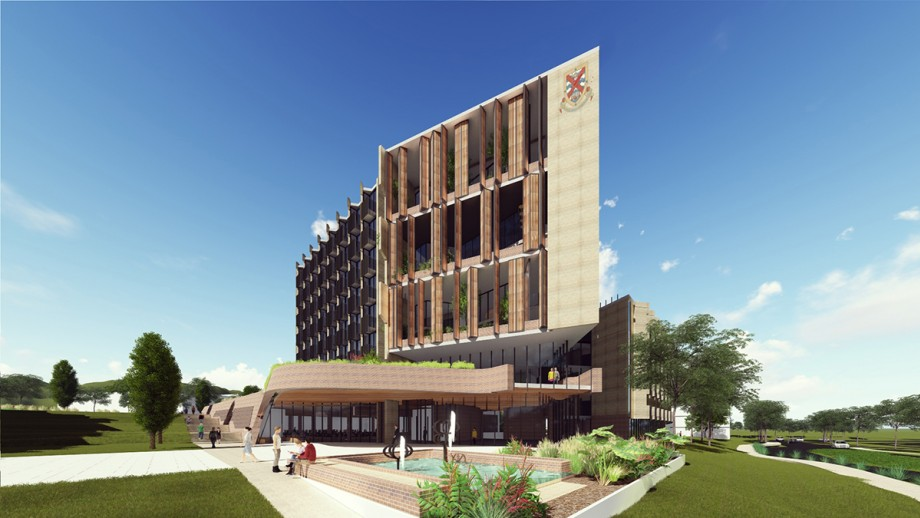 Artist's impression of new residence- exterior