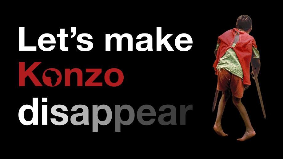 Let's make Konzo disappear