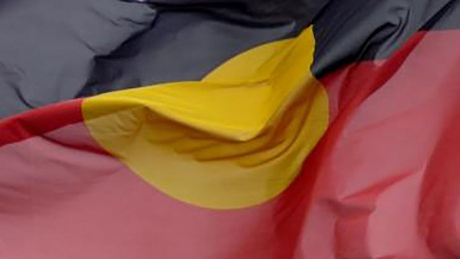 Aboriginal flag by Les Haines on flickr.