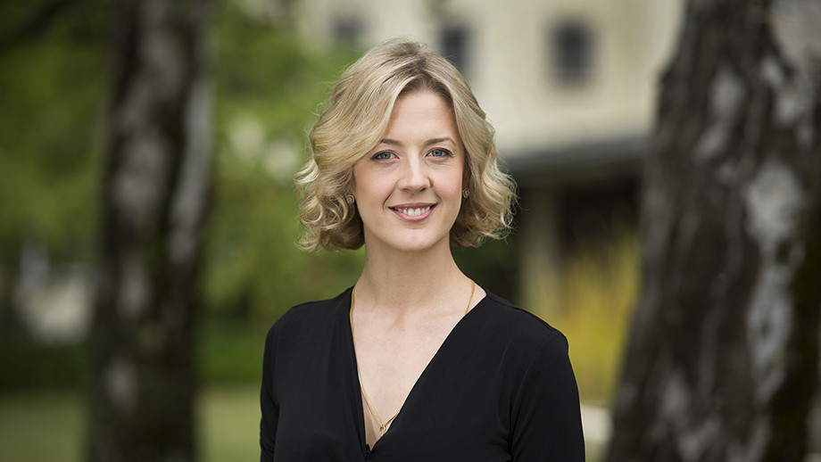 Dr Anna Von Reibnitz, recognised with a national teaching award.