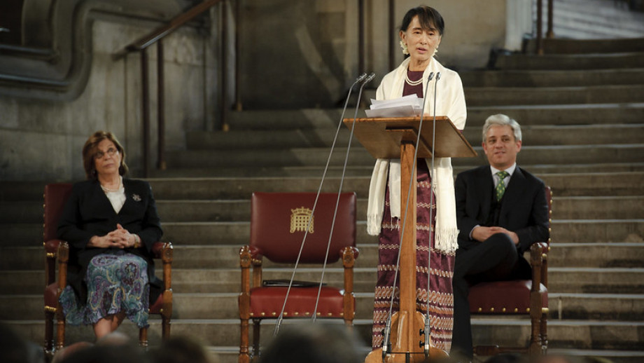 Aung San Suu Kyi. Credit: UK Parliament, Flickr