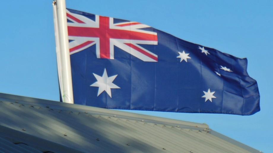 Australian flag. Image by Michael Coghlan on flickr.