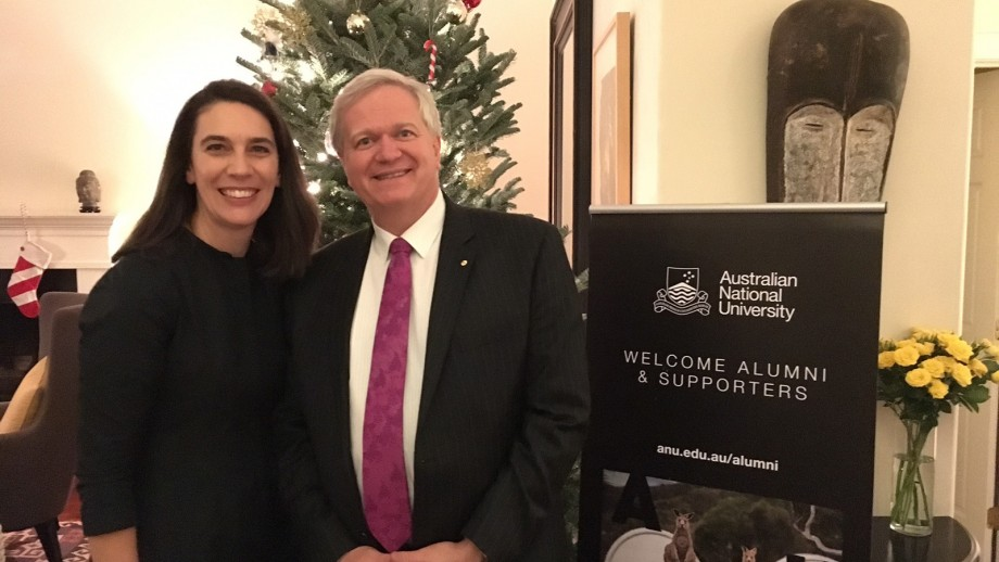 The Australian Consul-General in LA, ANU alumna (BA (Hons) '99), Ms Chelsey Martin, hosted an event in her house earlier this week.