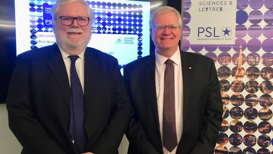With Alain Fuchs, President of PSL.