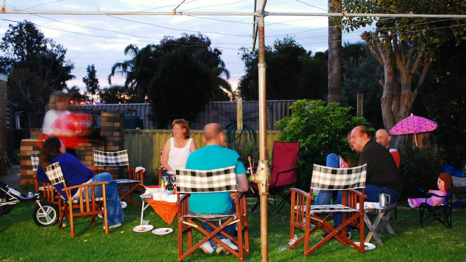 Backyard barbecue by Andrew Kenworthy on flickr.