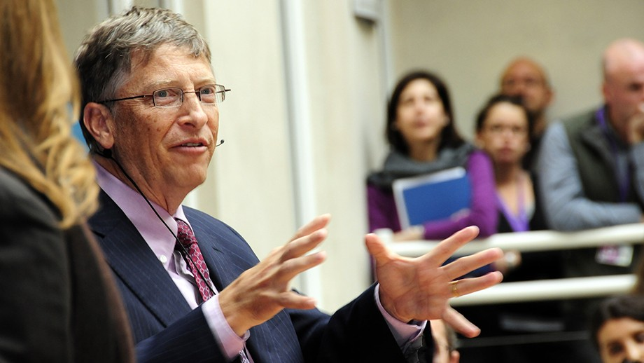 Bill Gates. Image by DFID - UK Department for International Development on flickr.