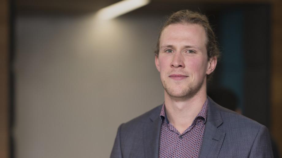 Dr Bjorn Sturmberg will lead the new Distributive Energy Resources Lab. Photo: Jamie Kidston
