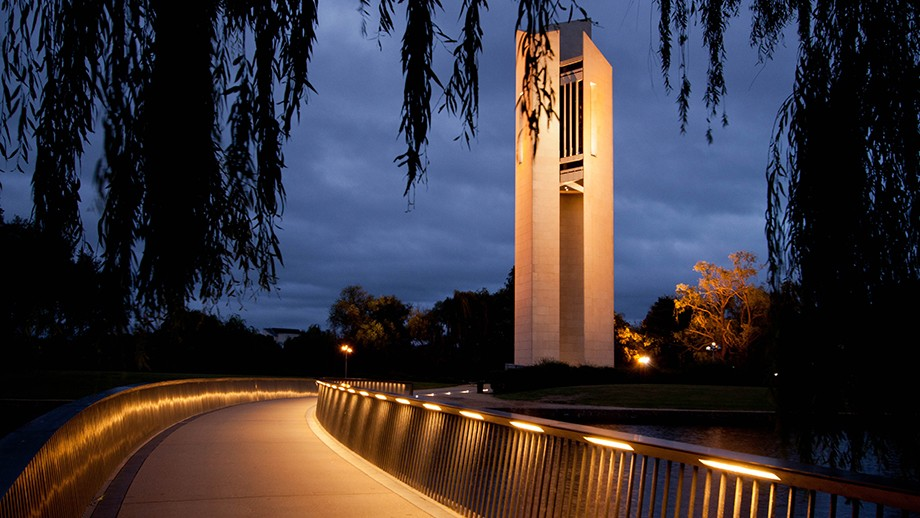 The National Carillon in Canberra. Photo by Mike Russell on flickr.