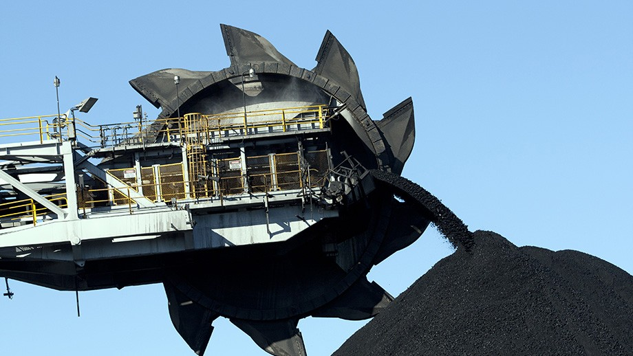 Coal conveyor belt by david_a_I on flickr.