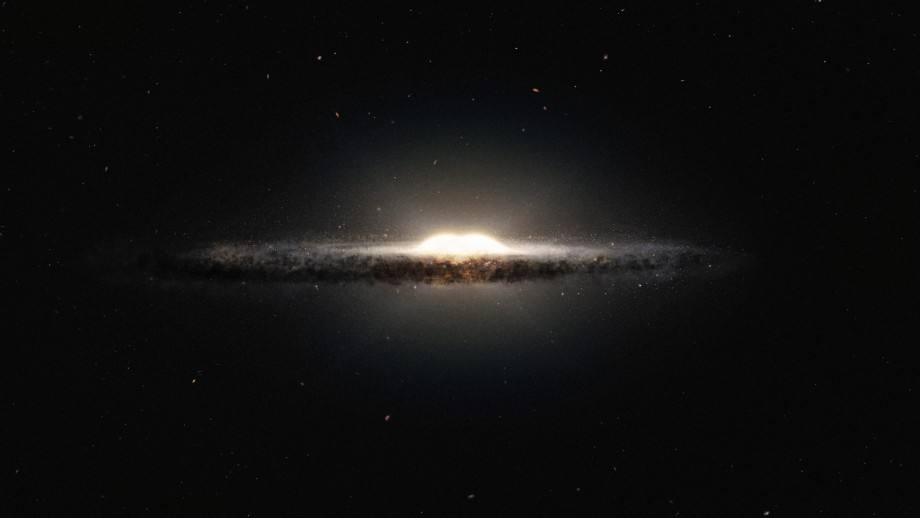 Artist's impression of the Milky Way. Credit ESOA/NASA/JPL-Caltech/M.Kornmesser/R. Hurt