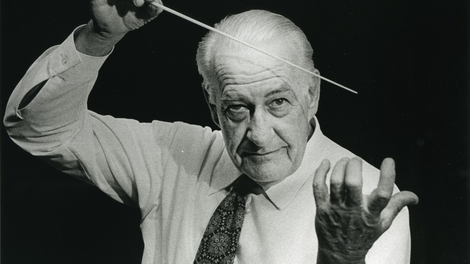 The ANU School of Music was the idea of Sir Ernest Llewellyn.