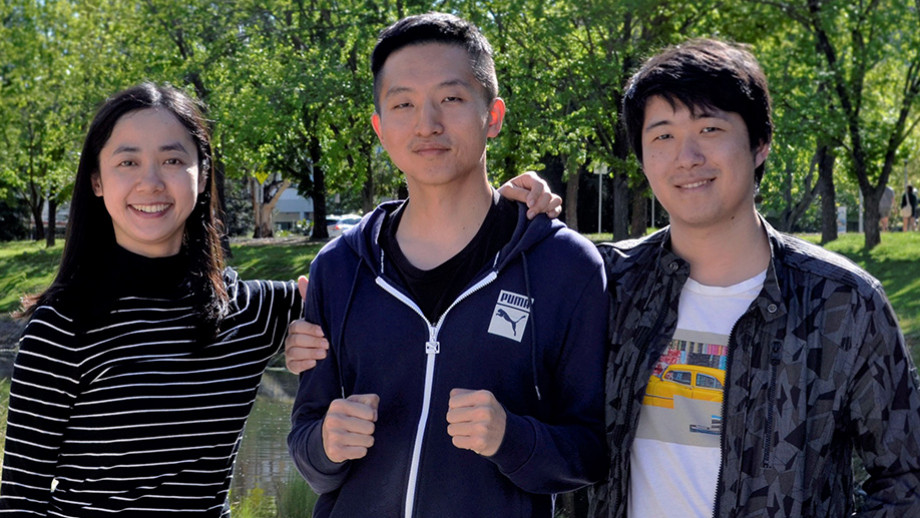 Linda Yao, Mingyuan Gao & Bowen Wang of Explorer created a railway monitoring system