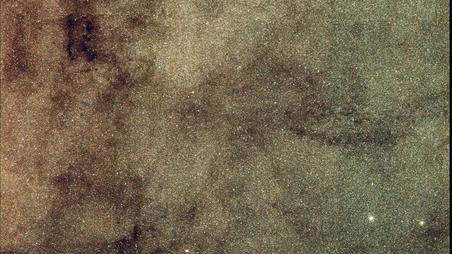 SkyMapper image of the centre of the galaxy. Image: SkyMapper/Chris Owen