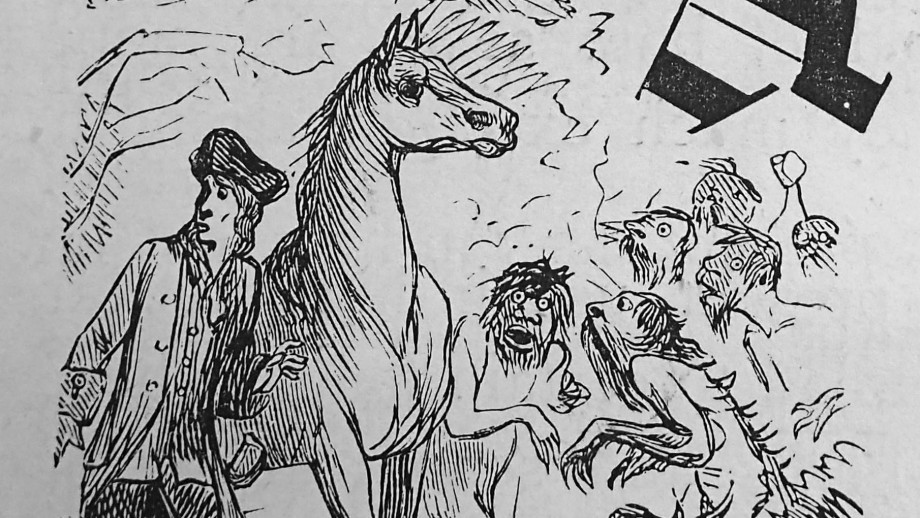 Illustration from from Jonathan Swift's novel Gulliver's Travels (1874 edition). Image: Flickr.