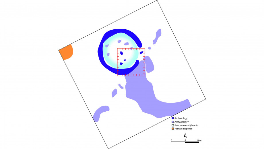 Interpretation of the site to be excavated. Image: Supplied