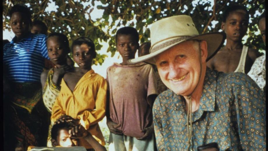 Emeritus Professor Howard Bradbury in Mozambique