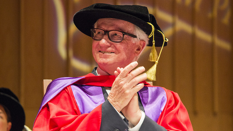The Hon Fred Chaney AO. Photo by Kim Lester, ANU.