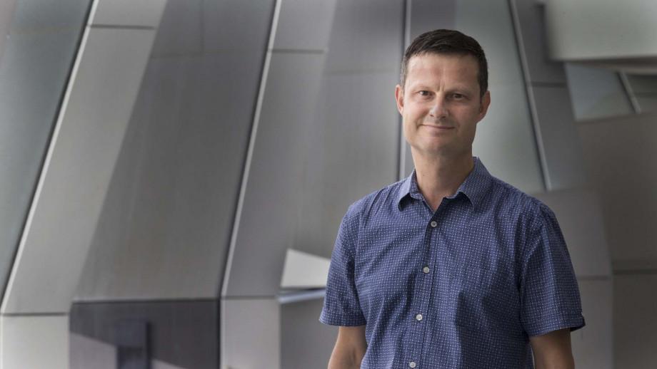 Professor David Tscharke, Image: Jamie Kidston, ANU