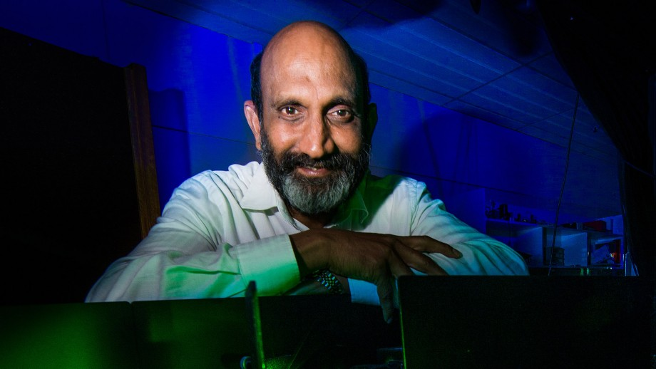 Distinguished Professor Chennupati Jagadish. Photo by Stuart Hay, ANU.