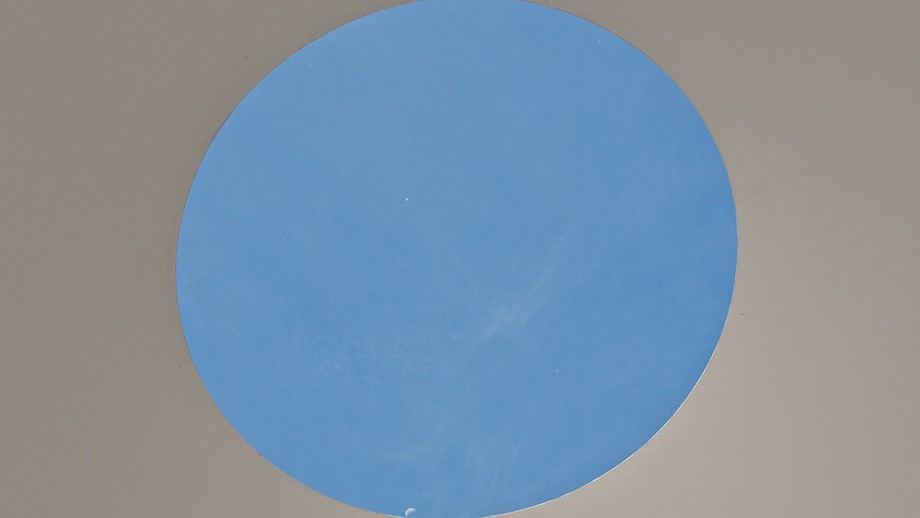 James Turrell's Skyspace at the National Gallery of Australia. Image by Nomad Tales on flickr.
