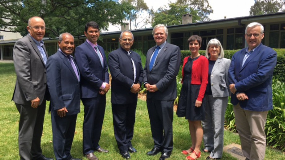 Dr José Ramos-Horta (fourth from right) joined us on campus this week.