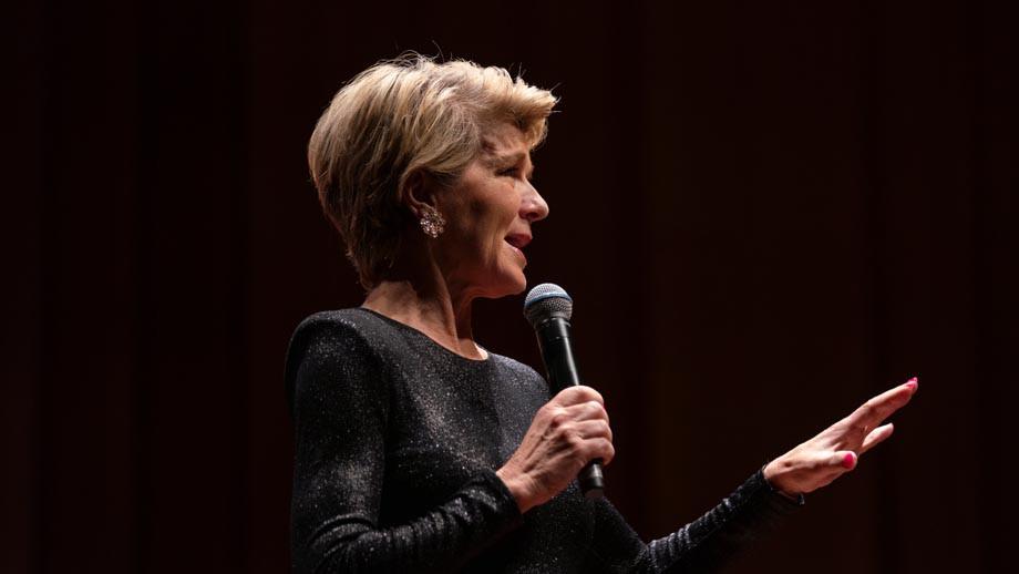 The Hon Julie Bishop, ANU Chancellor
