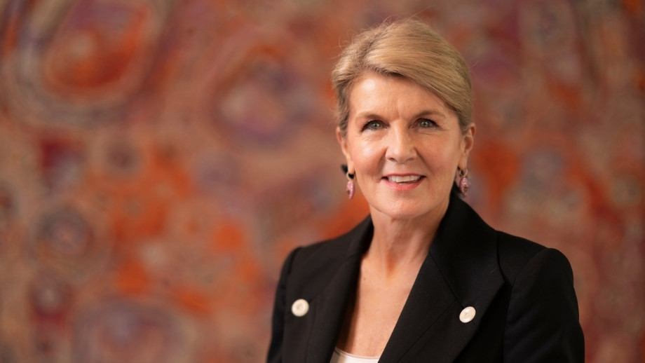 ANU Chancellor the Hon Julie Bishop.
