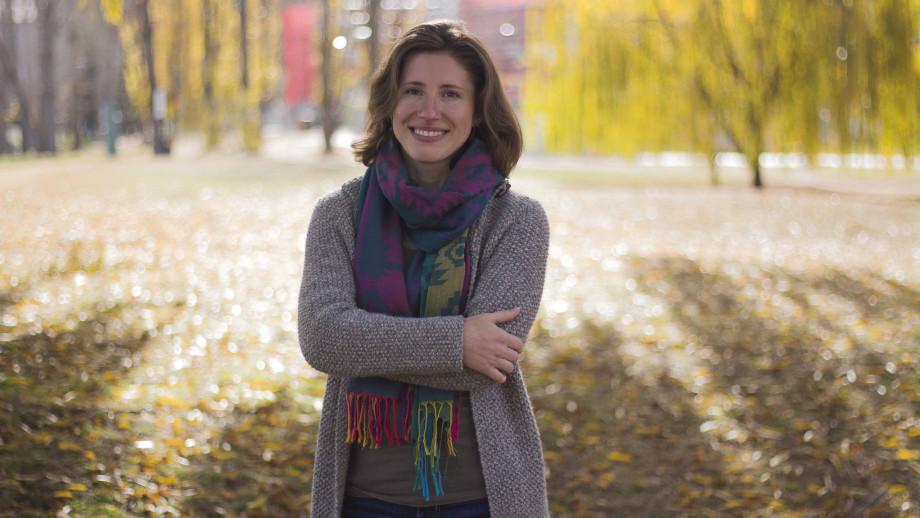 Dr Ksenia Gnevsheva, School of Literature, Languages & Linguistics. Image: Evana Ho