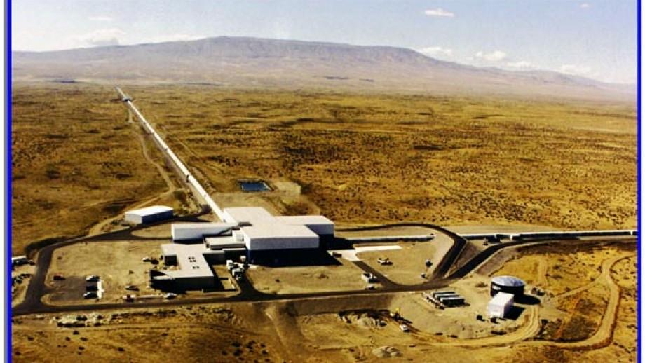 LIGO Hanford site, Washington State, US. Image: LIGO