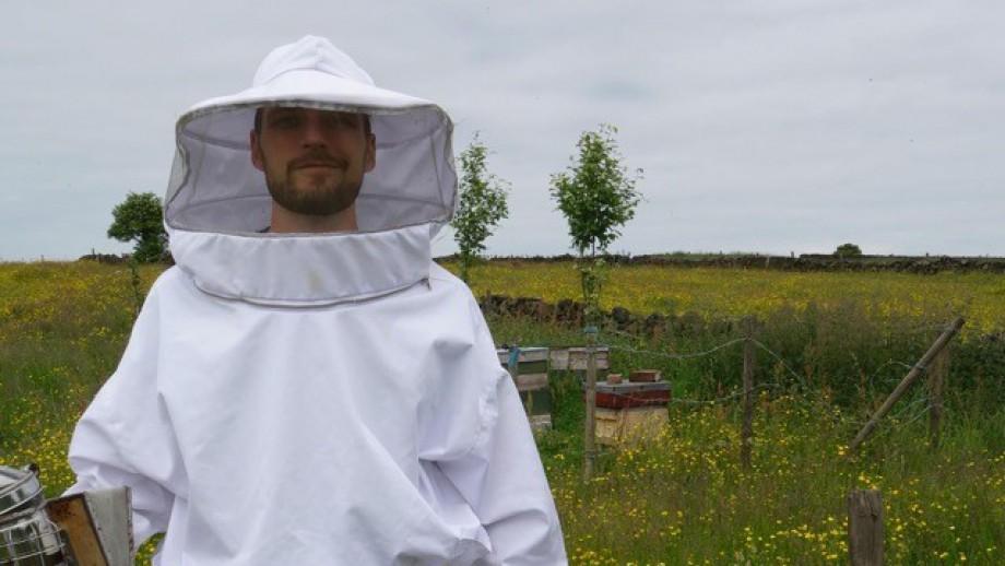 Dr Luke Holman. Image L Holman