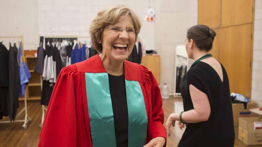 Honorary degree: Professor Lyn Beazley AO - ANU