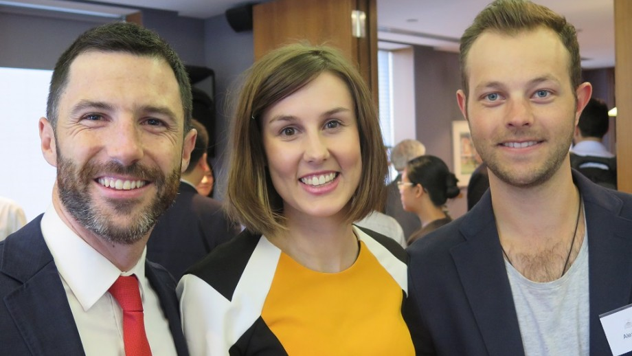 Picture of Tim Mayfield, Caitlin Baillie and Alex Pascoe