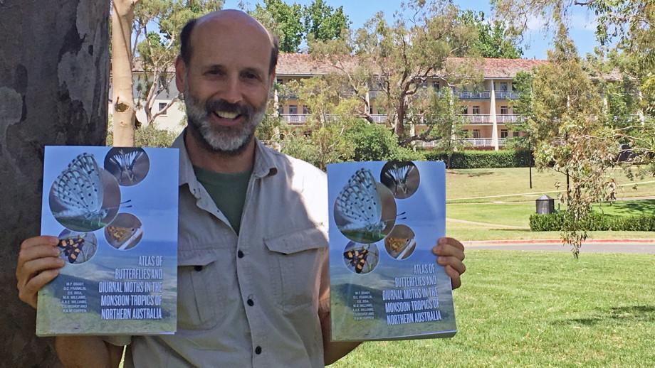 Lead researcher, Associate Professor Michael Braby. Image: ANU Press