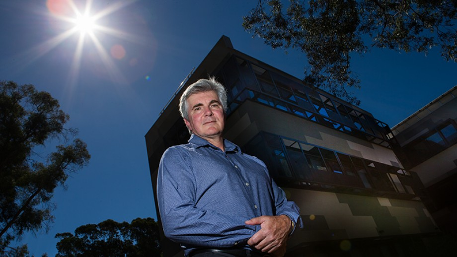 Dr Mark Howden, Interim Director of the ANU Climate Change Institute. Image: Stuart Hay.
