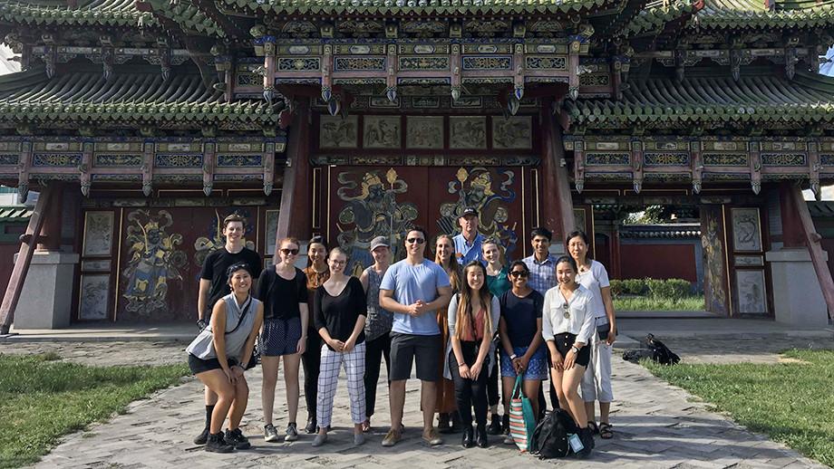 ANU students visit Mongolia. Image: Supplied.