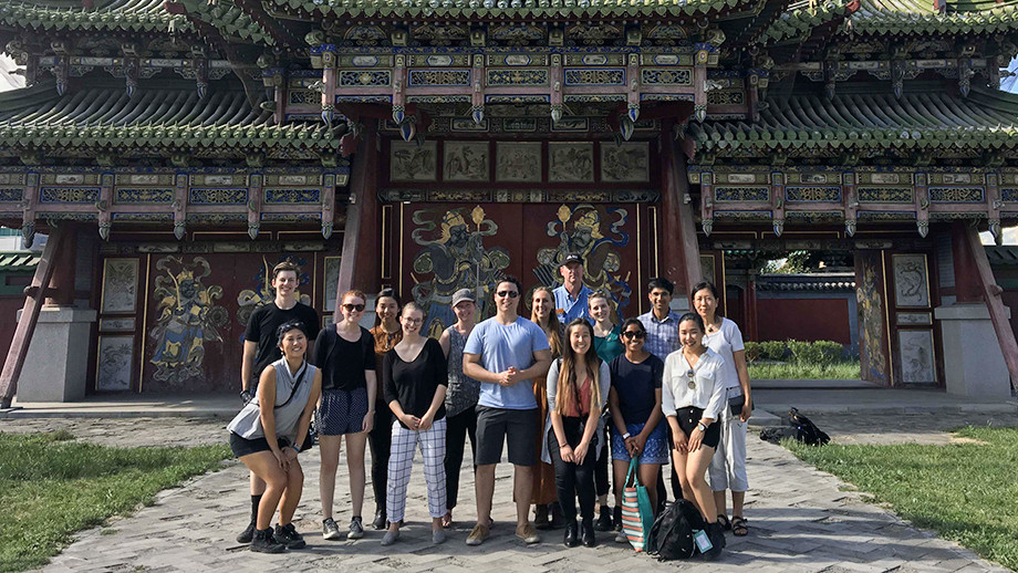 ANU students visit Mongolia. Image: Supplied.