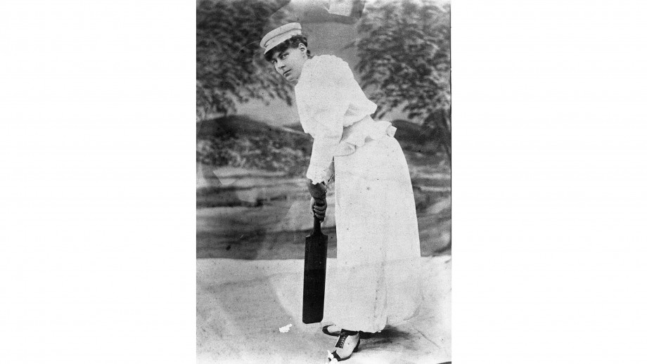 Nellie Gregory. Then Mrs Harry Donan. Image: Courtesy SCG Museum