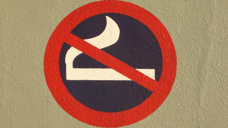 No smoking sign. Image: Andreas, Flickr.