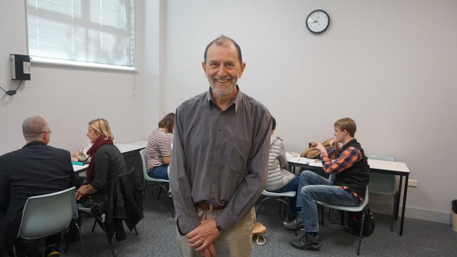 Patji-Dawes award winner Dr John Giacon. Image: ANU.