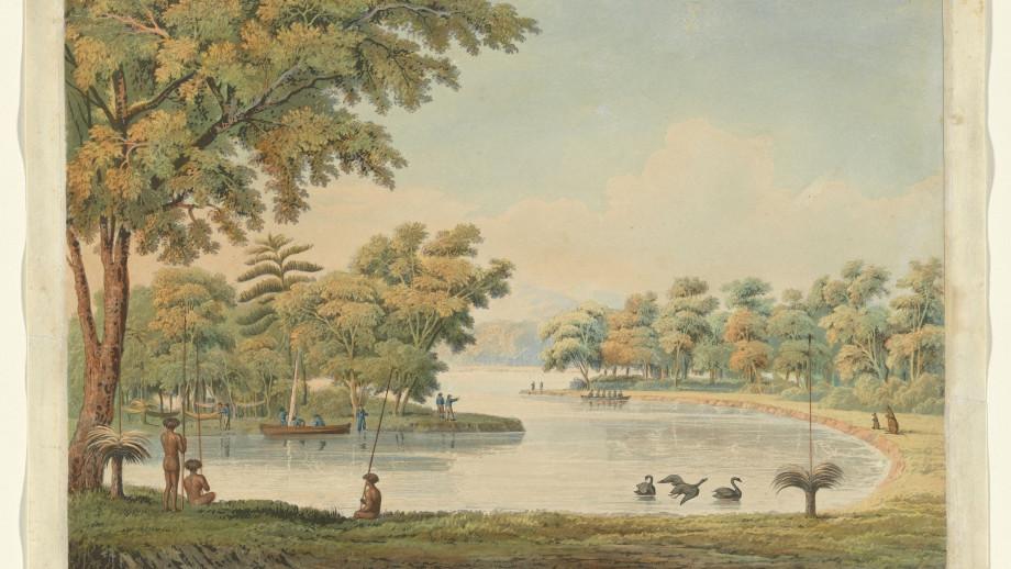 Swan River, 1829. Credit: National Gallery of Australia.