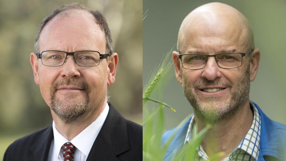 Professor Quentin Grafton and Professor Barry Pogson