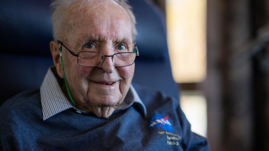 Emeritus Professor Ross Taylor in 2019. Photo: Lannon Harley/ANU