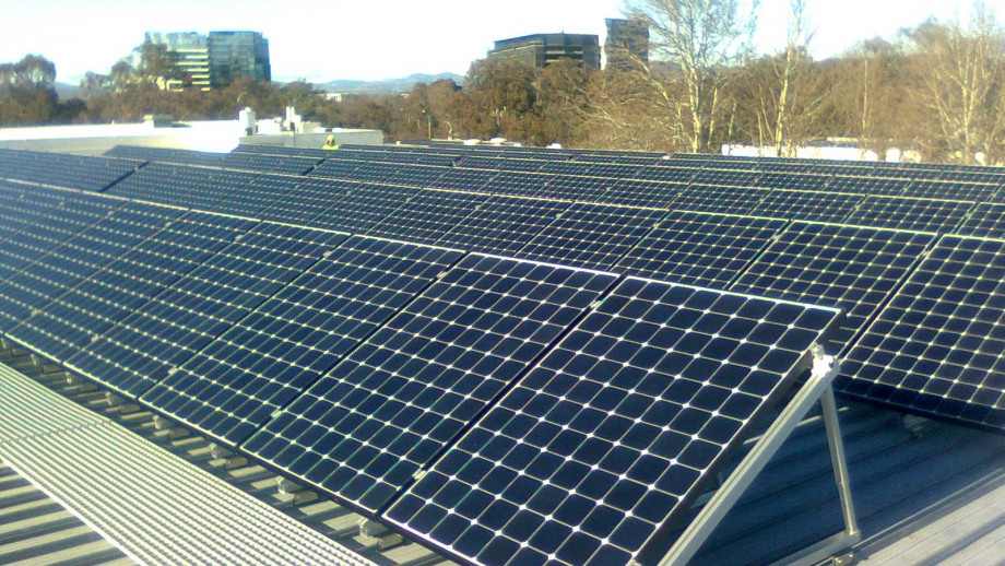 Largest Campus Solar Installation at School of Art.