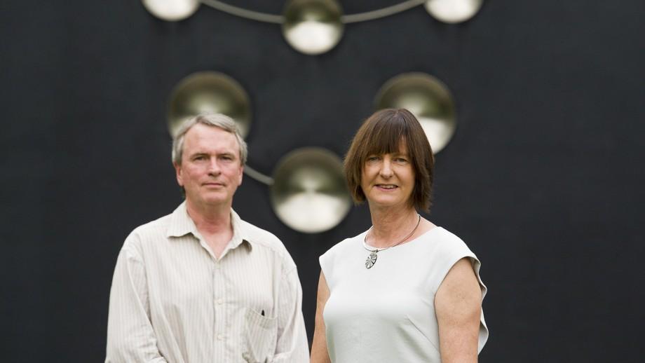 rofessor Susan Scott and Professor David McClelland. Image licensed from Fairfax