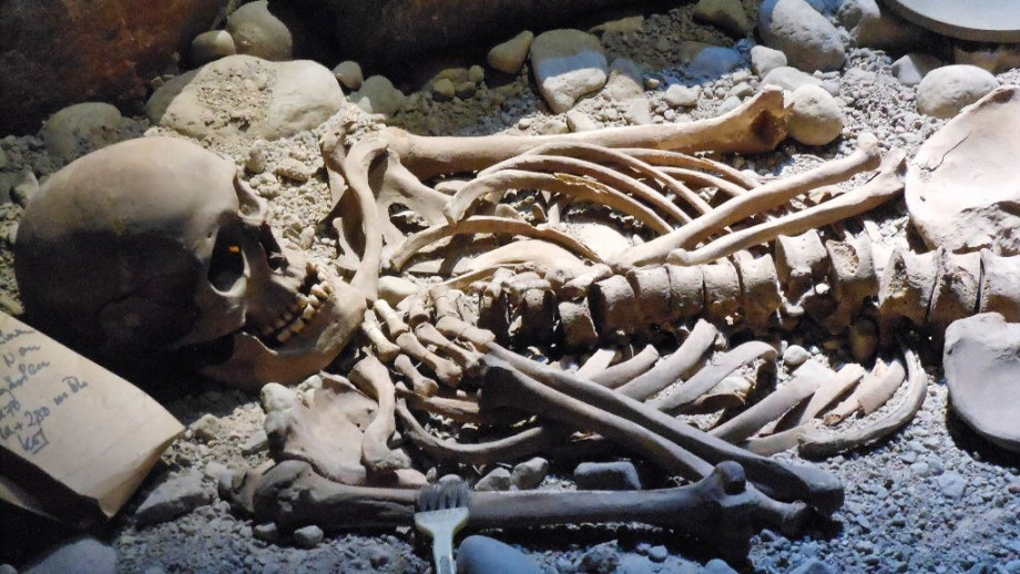 ANU Honours student Clare McFadden said that being able to identify the sex of human skeletal remains is crucial to avoid creating a distorted version of history: Image: Michael Coglhan, Flickr.