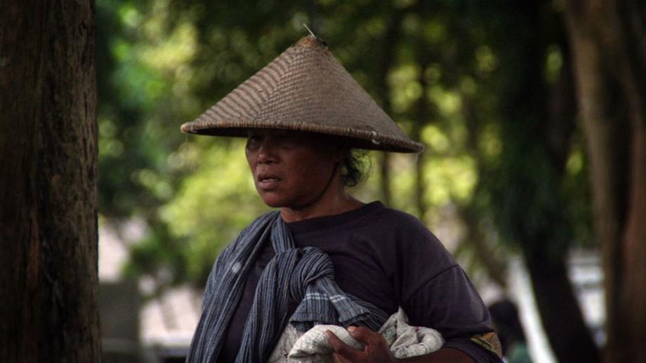 Indonesian woman.